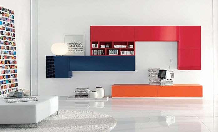 3 stili per arredare la tua casa moderna classica e for Mobili colorati moderni